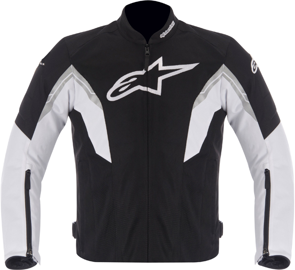 Giacca moto Alpinestars VIPER AIR nero bianco