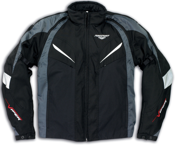 Prexport Viper waterproof jacket Black Gunmetal