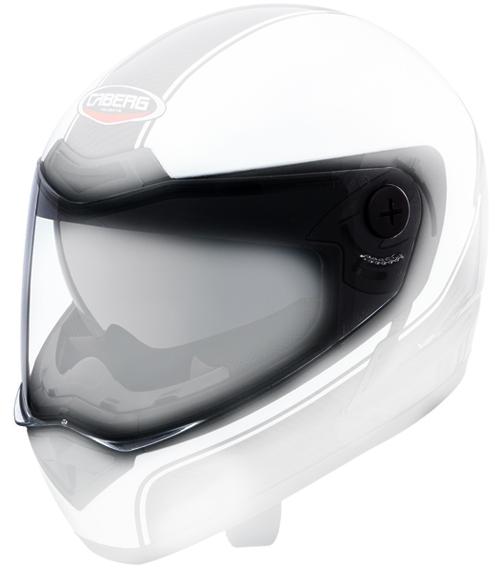 Clear antiscratch visor Caberg V2X Carbon