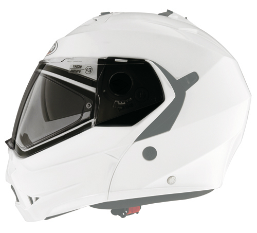 Caberg clear antiscratch visor (with pins)