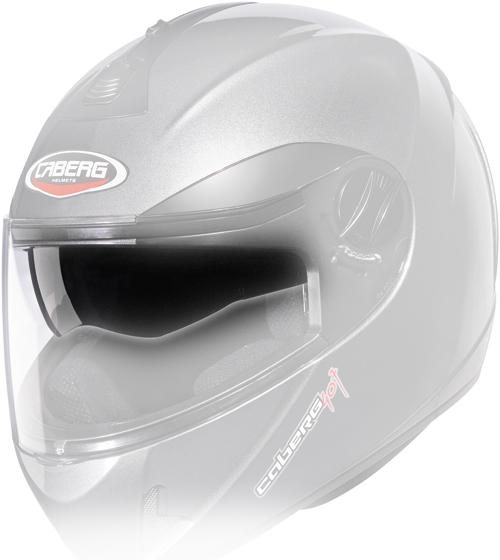 Caberg little visor antiscratch iridescent Silver V2 407