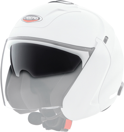 Caberg antiscratch iridescentsilver  visor for Downtown S