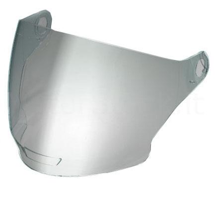 Visiera per Nolan N43 e N43 Air argento metalizzato