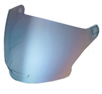 Nolan N43 and N43 Air blue mirror visor