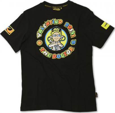VR46 The Doctor T-shirt black