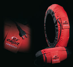 Capit tire warmers Maxima Pro Superbike / SS, color Red / Black