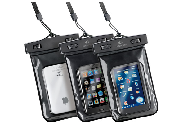 CELLULAR LINE waterproof bag for Smartphone and IPhone
