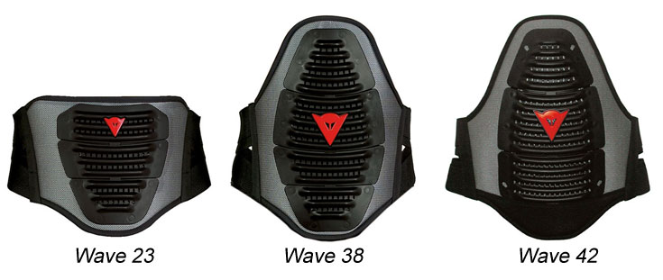 Lumbar band Dainese Wave 38 Black