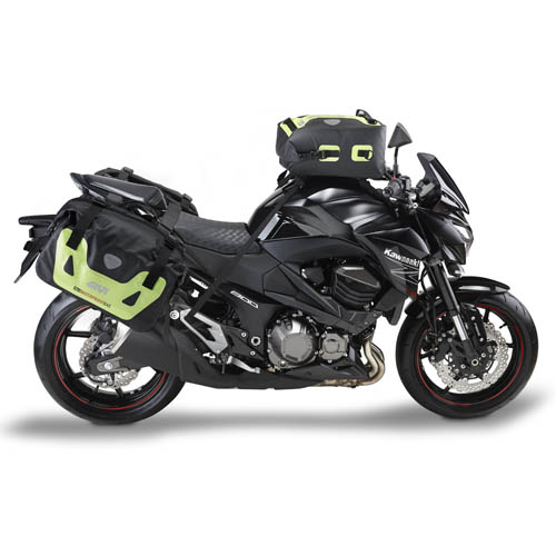 Waterproof panniers Givi Waterproof Black Yellow