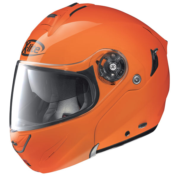 Helmet flip-up  X-Lite X-1003 N-Com Hi-Visibility fluo orange