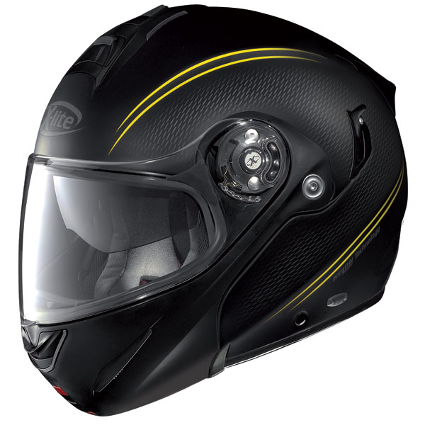 Helmet flip-up  X-Lite X-1003 N-Com Tourer metal black