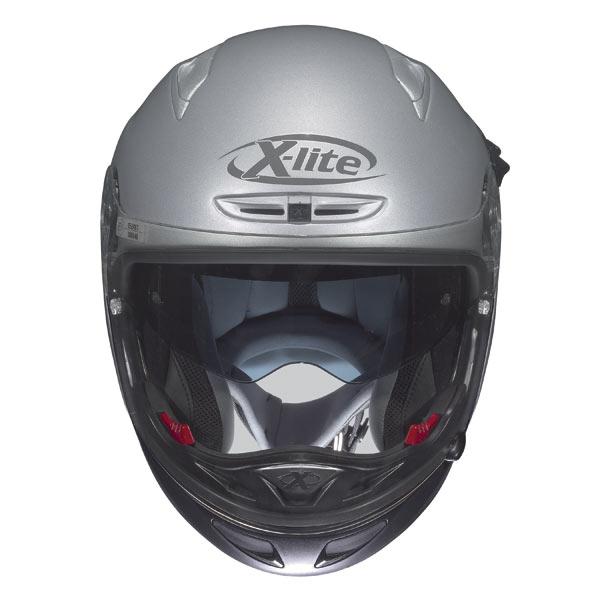 Casco moto X-Lite X402GT Elegance N-COM nero J/P
