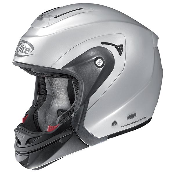 X-Lite X-403 GT Elegance N-Com modular helmet Grey artic