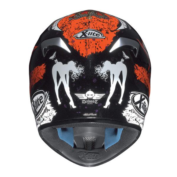 Casco moto X-Lite X501 Bianconcini metal black