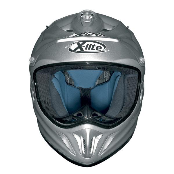 Casco moto X-Lite X501 Start nero opaco