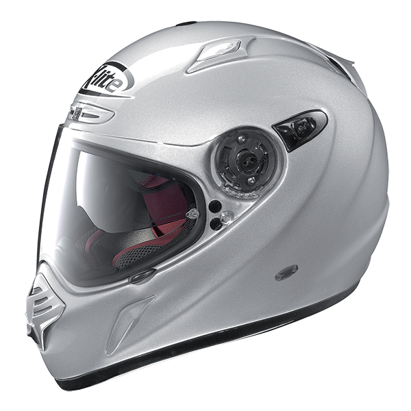 X-Lite X-551 GT Adventure N-Com full face helmet White Blue Red