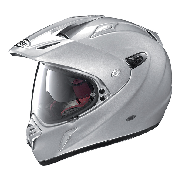 X-Lite X-551 GT Adventure N-Com full face helmet Matte Black Red