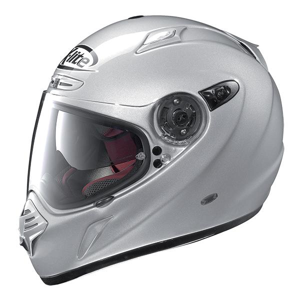 X-Lite X-551 GT Thundex N-Com full face helmet Grey Matte Blue