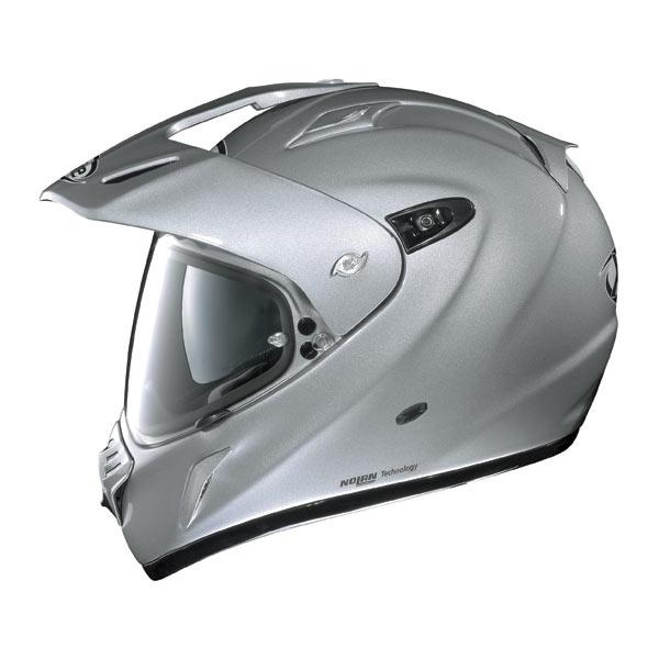Casco moto X-Lite X551 N-COM Hero bianco metal