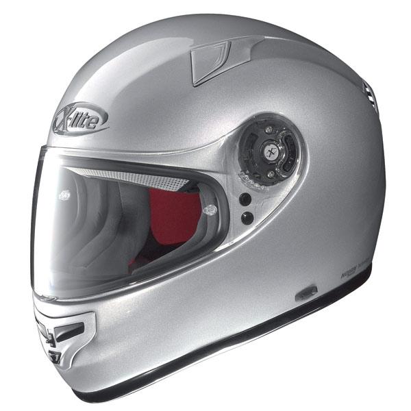 Casco moto X-Lite X-603 Start N-Com silver