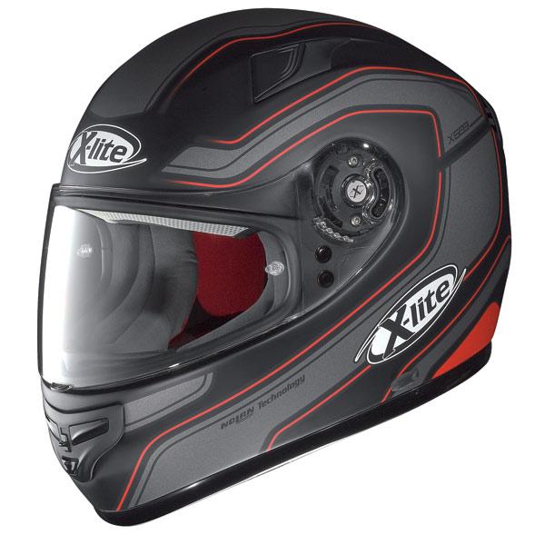 X-lite X-603 Street N-Com flat black  fullface helmet