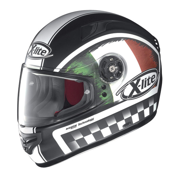 Casco moto X-Lite X-603 Ride N-Com flat black Italia