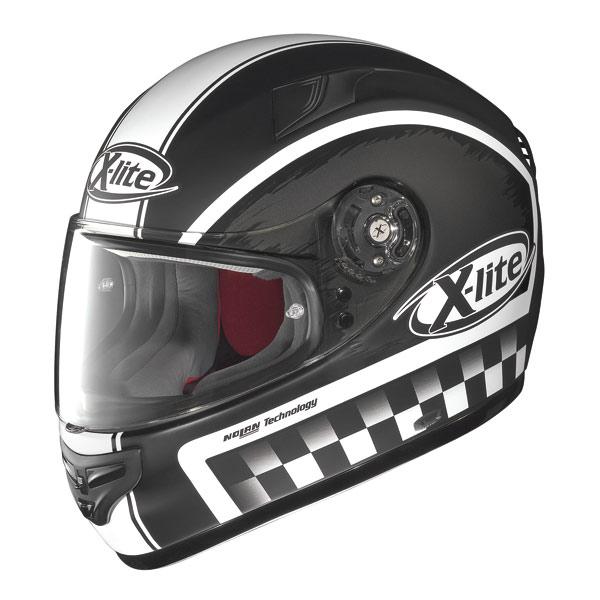 X-lite X-603 Ride N-Com flat black fullface helmet