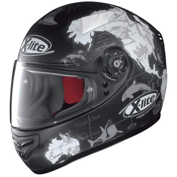 X-lite X-603 Replica N-Com C.Checa flat black fullface helmet