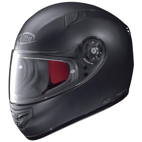 Casco moto X-Lite X-603 Start N-Com nero opaco