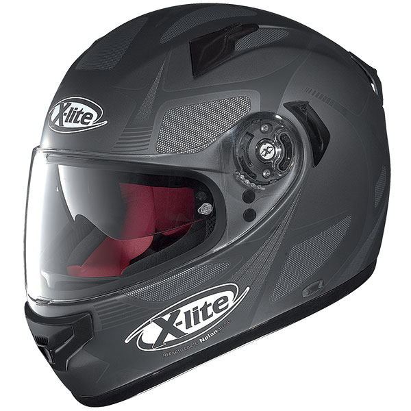 X-Lite X-661 Frantis N-Com full face helmet Matt gray