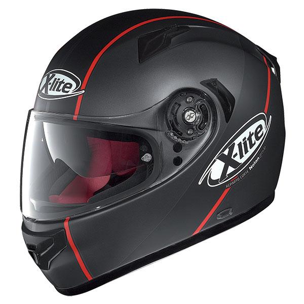 X-Lite X-661 Vinty N-Com full face helmet Black Matt