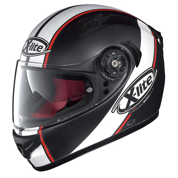 X-Lite X-661 Vinty N-Com full face helmet Black White