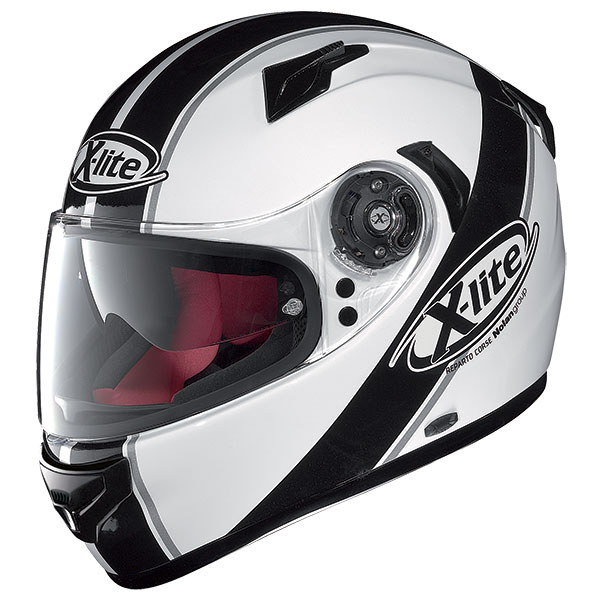 X-Lite X-661 Vinty N-Com full face helmet White Black