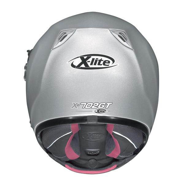 Casco integrale  X-Lite X702GT N-Com hi-visibility arancio fluo