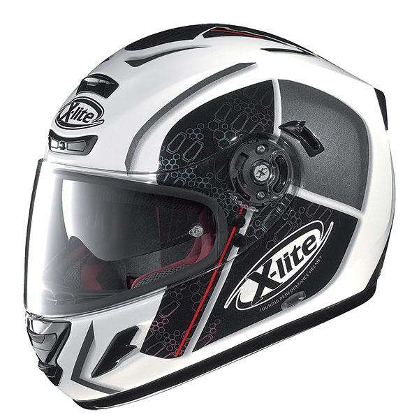 X-Lite X-702 GT Scorey N-Com full face helmet White Black
