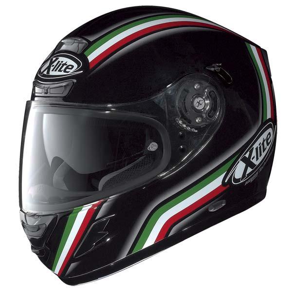Casco moto X-Lite X702 League N-COM nero metal