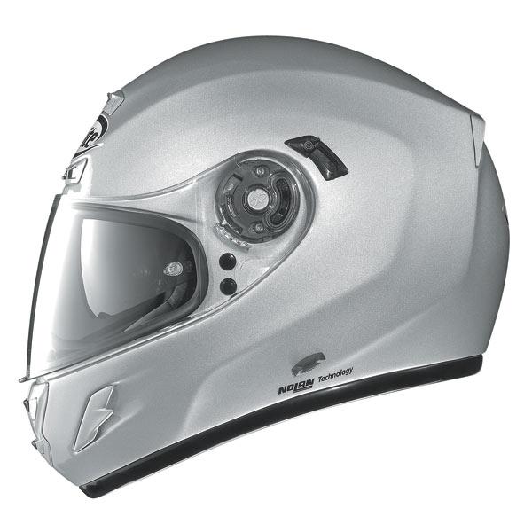 Casco moto X-Lite X702 Sport Tourer N-COM bianco metal