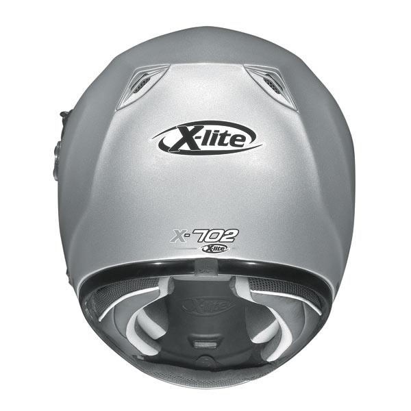 Casco moto X-Lite X702 Stream N-COM bianco opaco