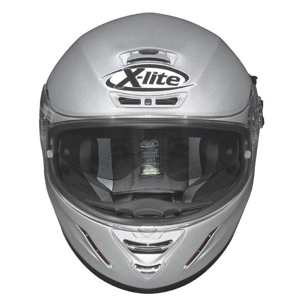 Casco moto X-Lite X702 Swift N-COM rosso-nero metal
