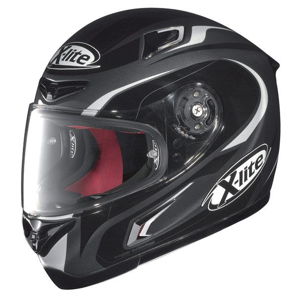 X-lite X-802R Racer fullface helmet lava grey-white