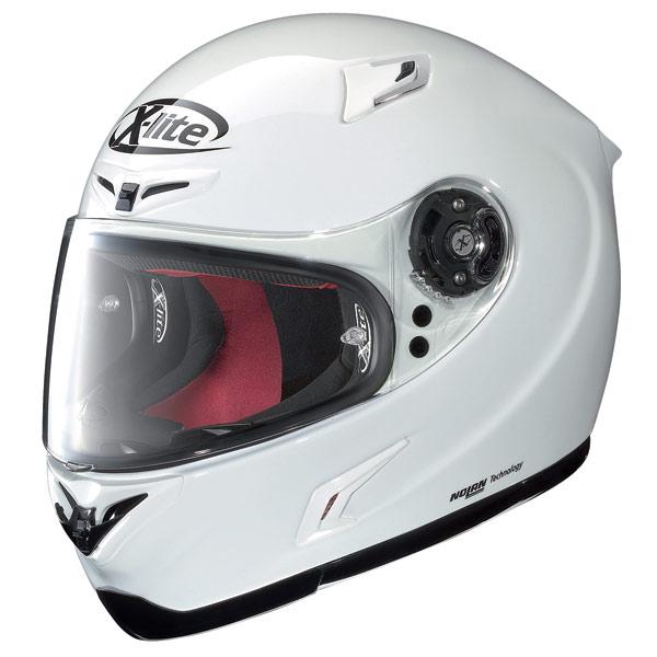 Casco moto X-Lite X-802R Start bianco