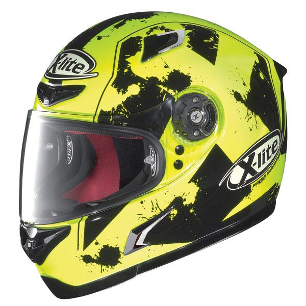 Casco moto X-Lite X-802R Escape giallo fluo-nero