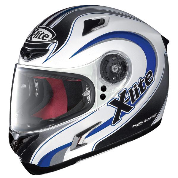 Casco moto X-Lite X-802R Twist bianco