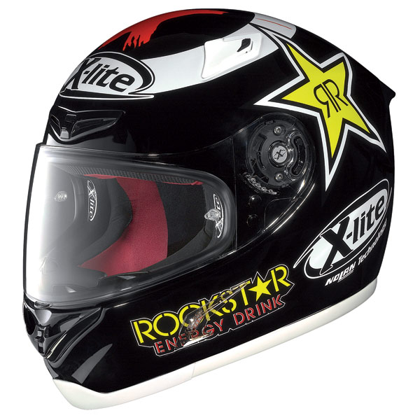 X-Lite X-802R Replica Lorenzo black full face helmet