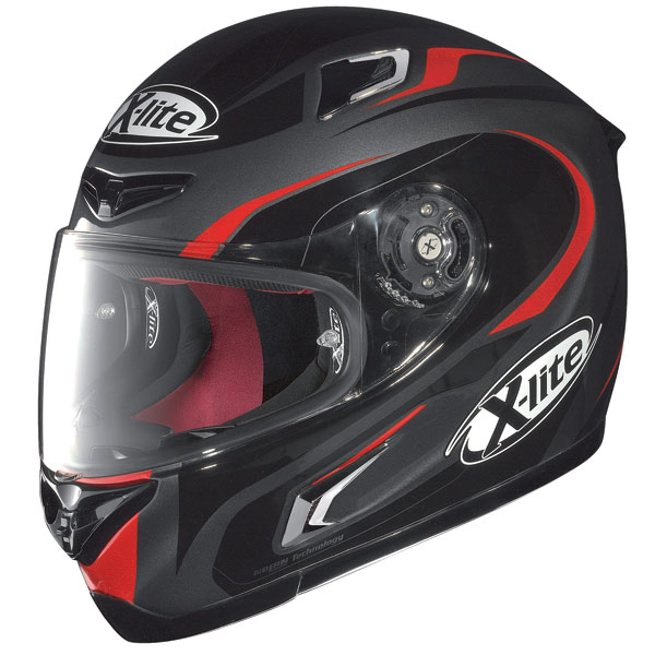Casco moto X-Lite X-802R Racer lava grey rosso