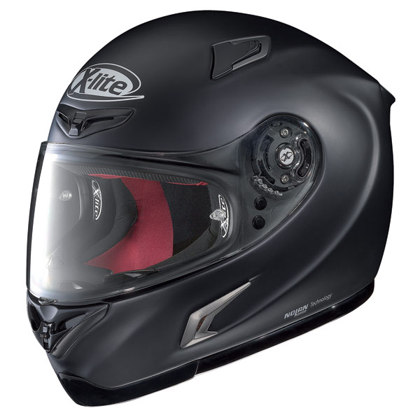 Casco moto X-Lite X-802R Start nero opaco