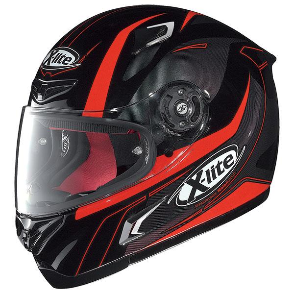X-Lite X-802R Flize full face helmet Black Red