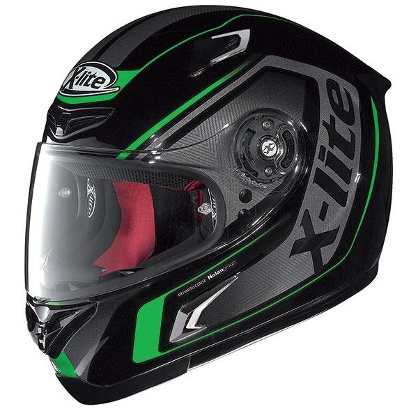 X-Lite X-802R Haryos full face helmet Black Green
