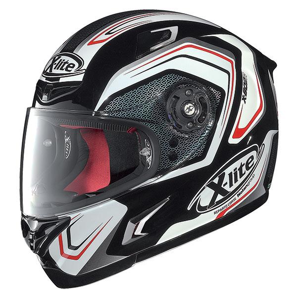 X-Lite X-802R Helder full face helmet Black White Red
