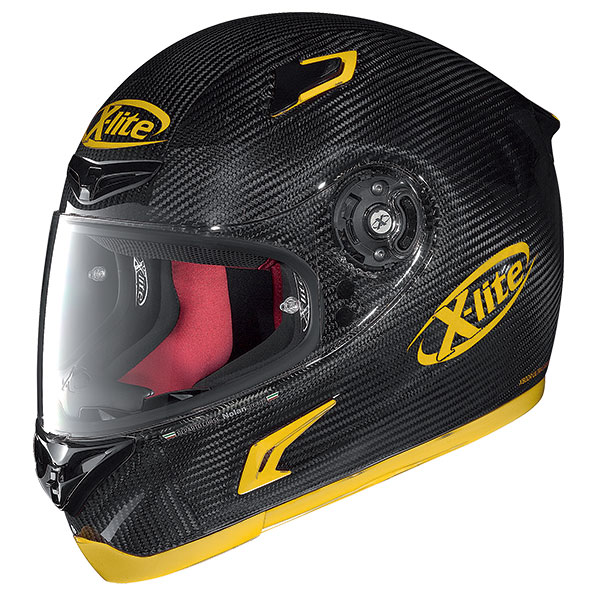 X-Lite X-802R Puro Sport full face helmet Carbon Yellow
